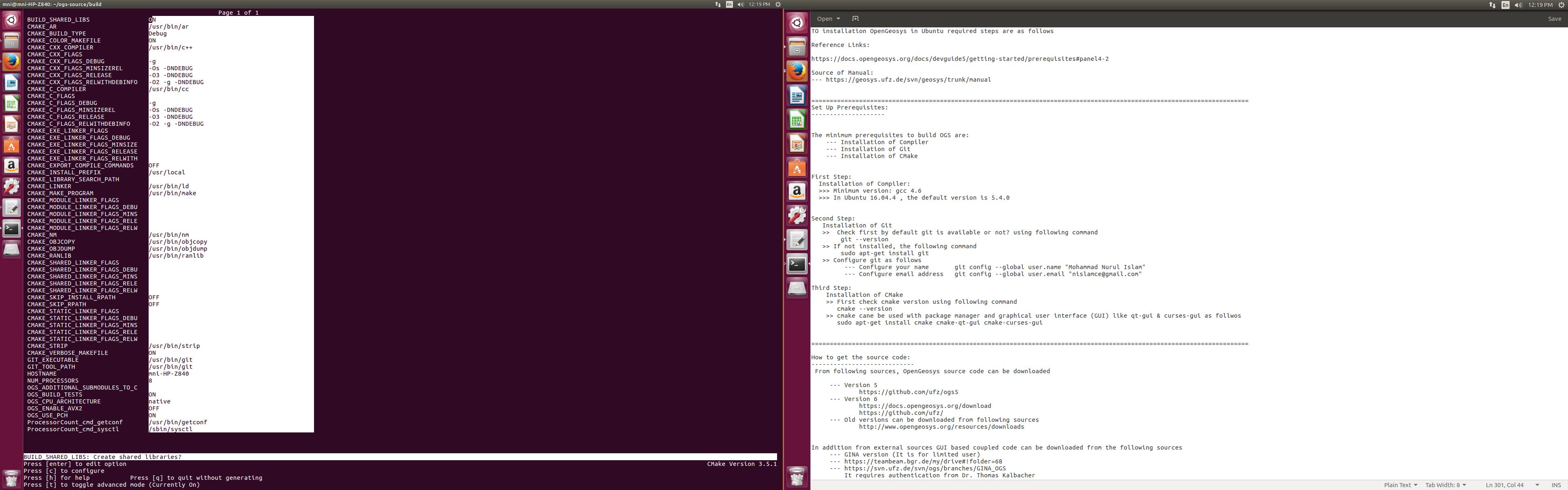 OGS6 on Ubuntu 16 04 - ogs-users - OpenGeoSys Community